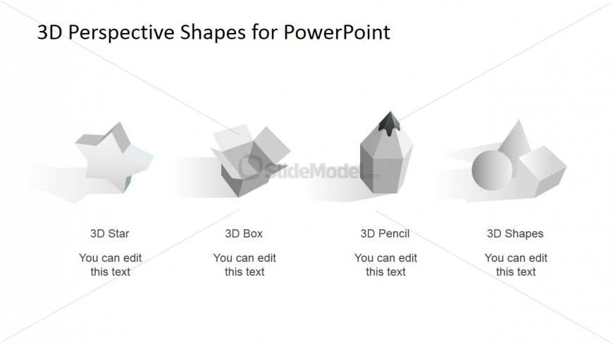 3D Clipart Design for PowerPoint