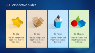 3D Perspective Icons for PowerPoint