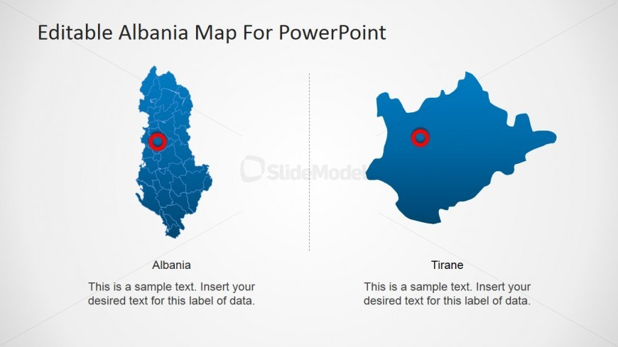 Journey in Albania PowerPoint Slide