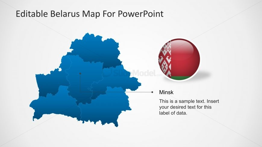 PPT Belarus Maps Templates