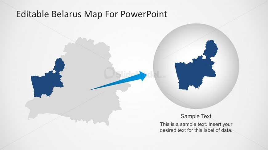 PPT Templates of Belarus Maps