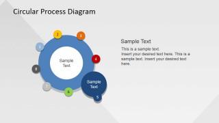 Circle Color Palette for Business Presentation