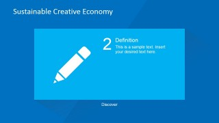 Creative Definition PowerPoint Slide