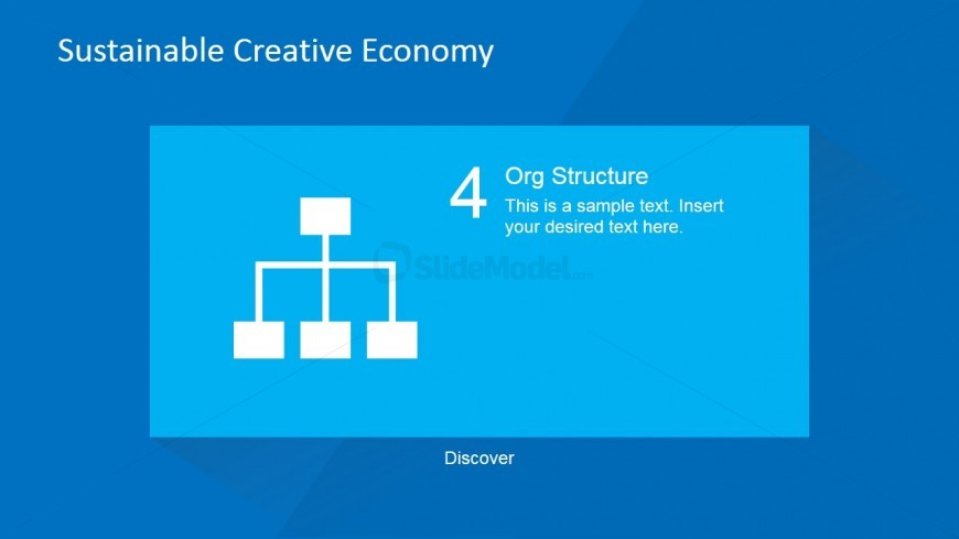 Business Organizational Structure for PowerPoint