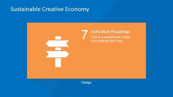 Activation Roadmap Design PowerPoint Slide