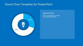 30/70 Donut Chart Energy Slide Design