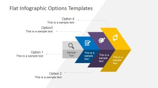 4 Steps Business Presentation Template