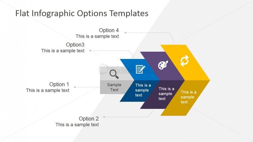 4 Steps Business Presentation Template