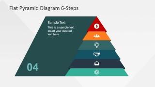 Pyramid Emphasizing Fourth Layer