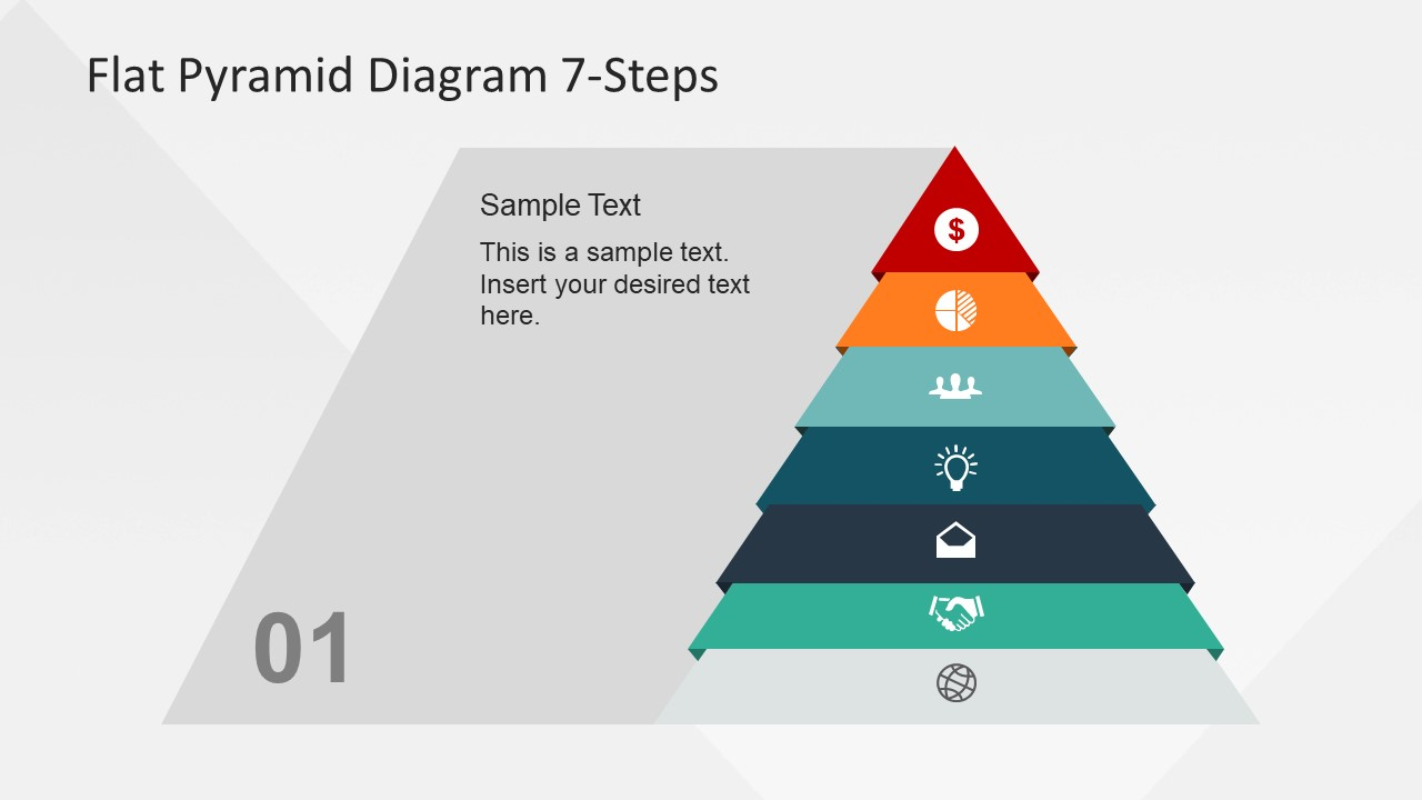 Flat Vector Diagram Design for PowerPoint