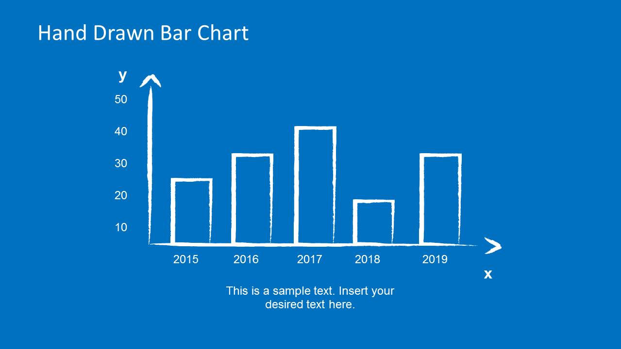 Hand Drawn Bar Chart Slide