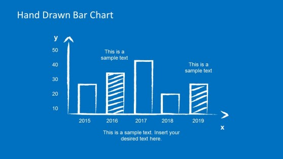 Hand Drawn Bar Chart Style for PowerPoint