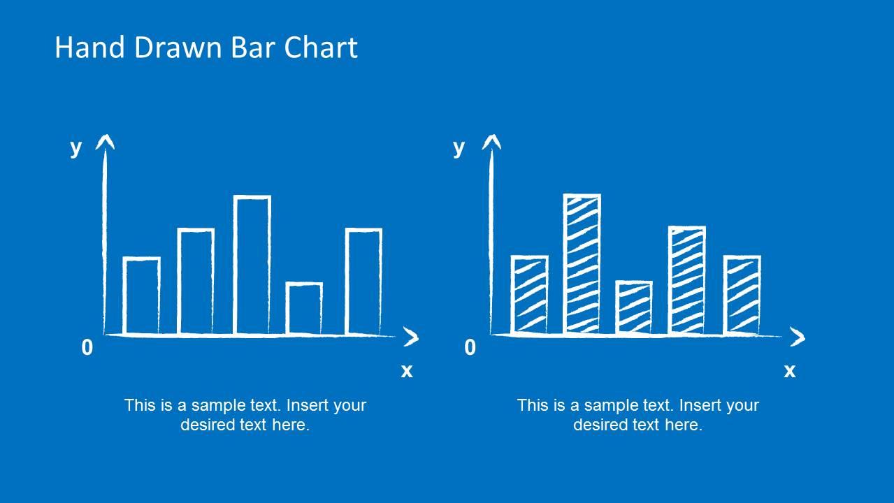 Hand Drawn Bar Chart PowerPoint Template