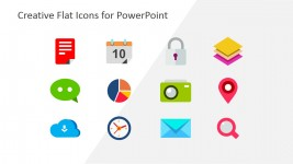 Business Clipart Icons for PowerPoint