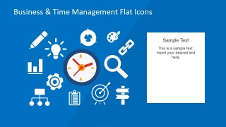 Org Chart Icons for Business Presentation