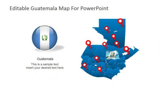 Guatemala Tourist Destinations PowerPoint Slide