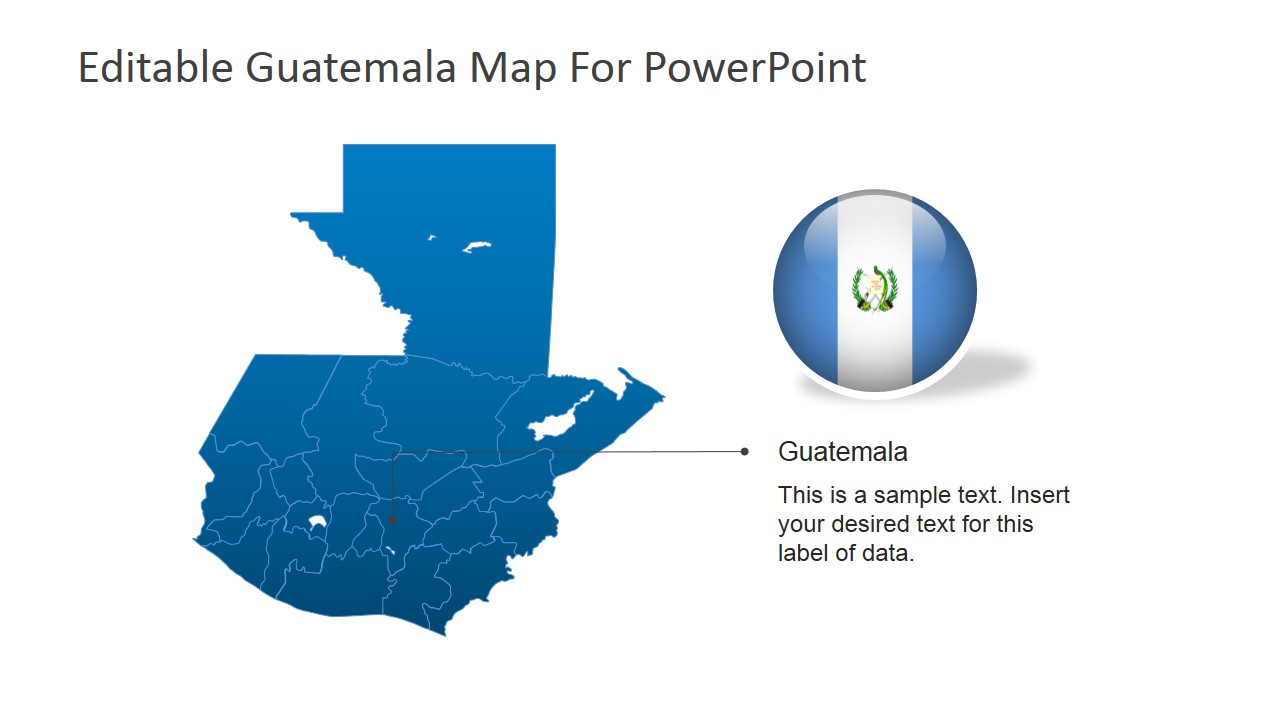 Guatemala Capital PowerPoint Slide