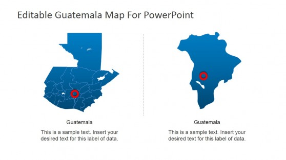 Guatemala Geography PowerPoint Slide