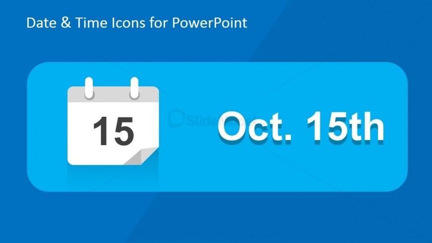Date PowerPoint Slide Design