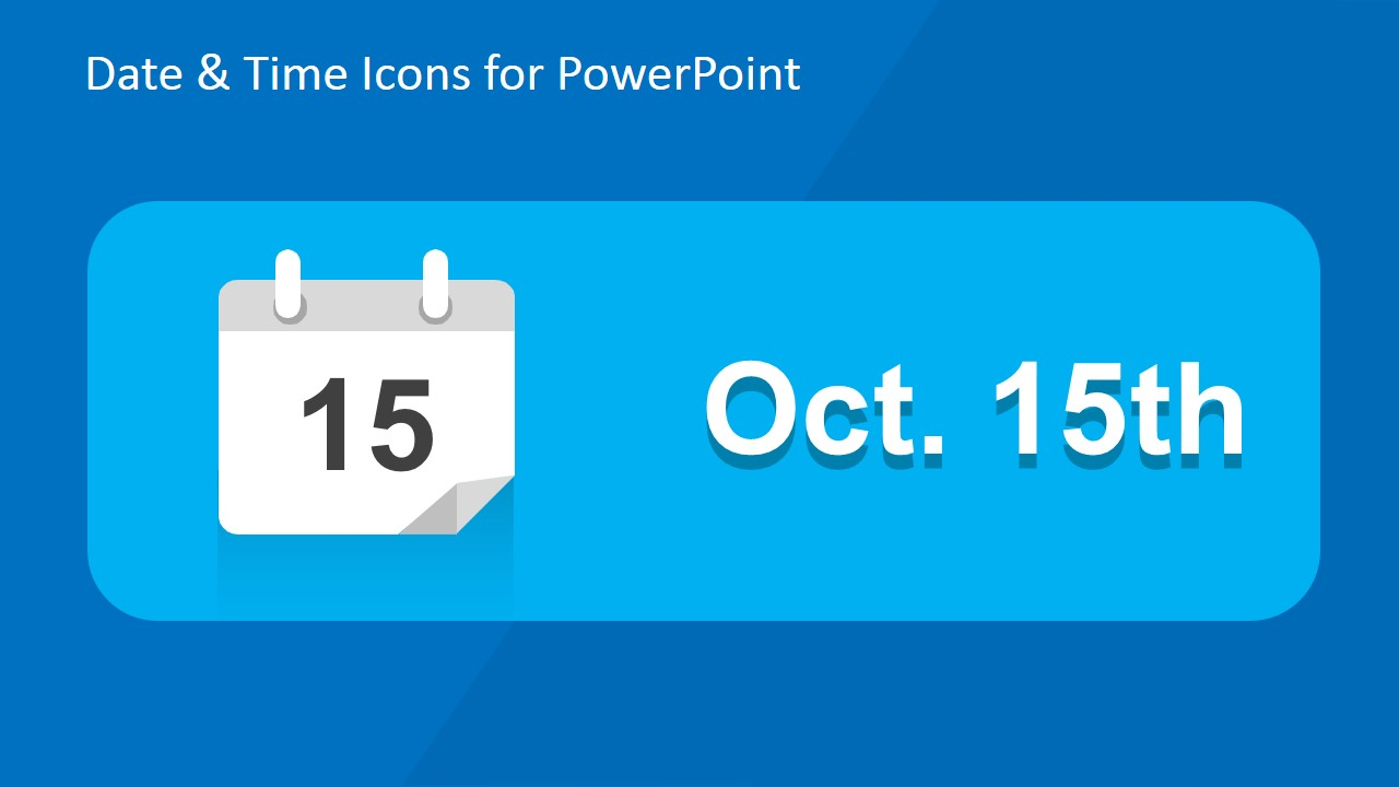time date powerpoint template slidemodel