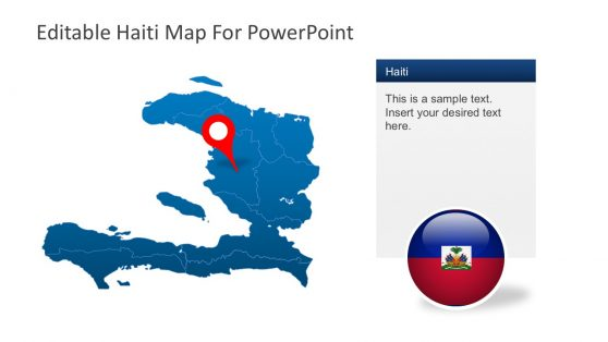 Haiti Powerpoint Map Presentation Slides