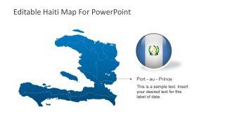 Haiti Maps with Teritorial Boundaries
