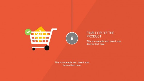 Cart Clipart Design for Remarketing PowerPoint