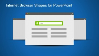 Internet Browser Clipart PowerPoint Slide