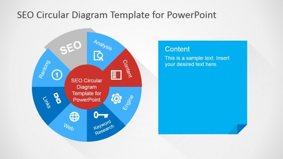 Content Slide Design for SEO PowerPoint