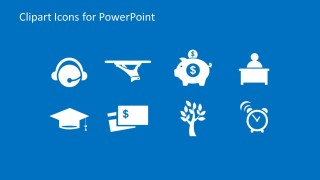 Miscellaneous Set of Modern Icons for PowerPoint Presentations