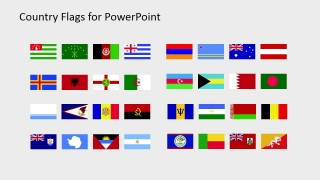 Country Flag Template for PowerPoint