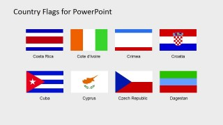 Flag Icon PowerPoint Template