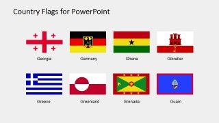 Flags of the World Clipart Vectors