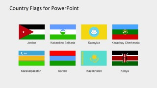 PowerPoint Shapes of World Flags