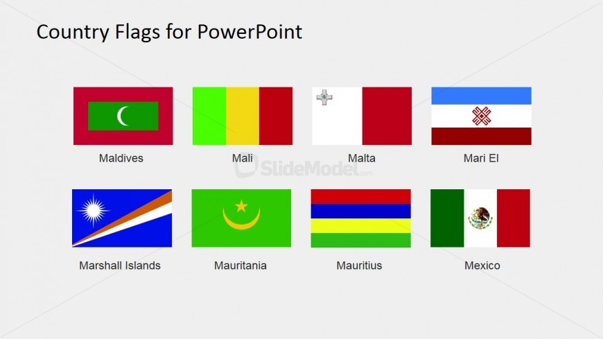 Professional Flag Clipart for PowerPoint