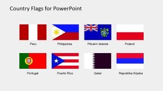 Flags Template M-R Clip art