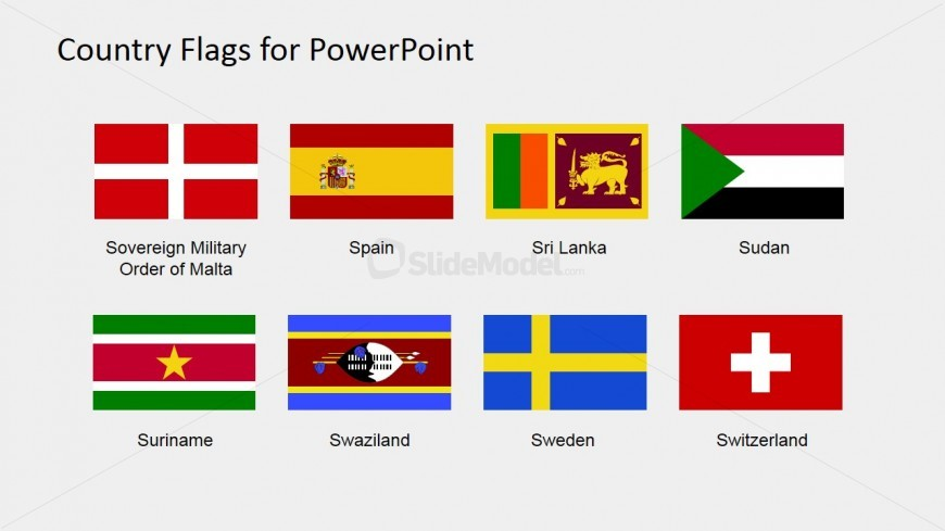 PPT Flags for PowerPoint (S to Z)