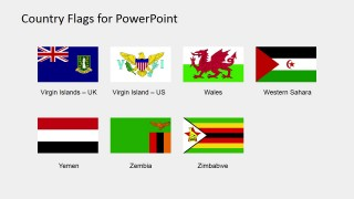 PPT Clipart of Country Flags (S to Z)