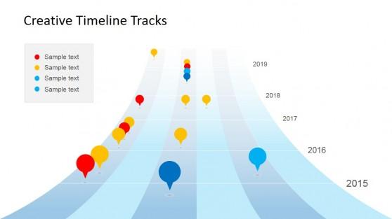 Upwards Timeline Planning Slide Design