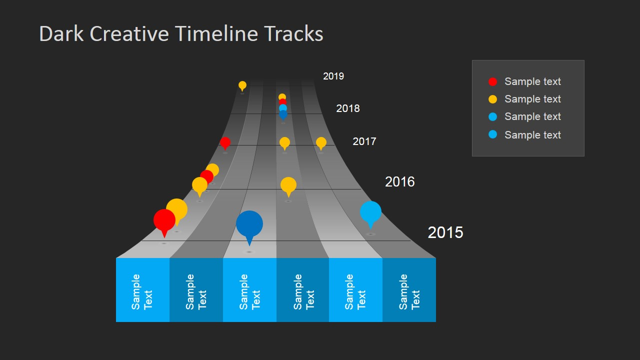 Dark timeline tracks powerpoint template slidemodel dark timeline tracks powerpoint template toneelgroepblik Choice Image