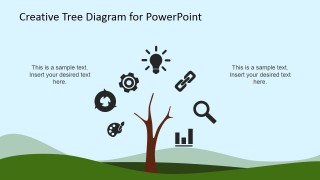 PowerPoint Icons on a Tree Diagram