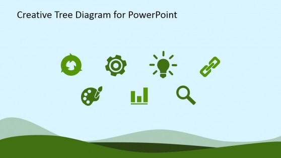 Eco-Friendly Flat Icons for PowerPoint