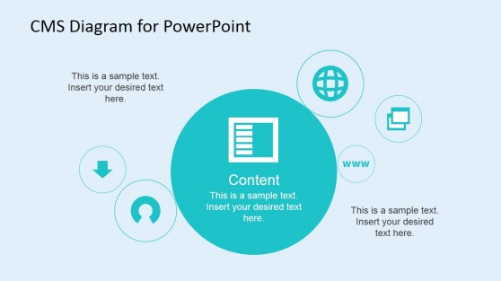 Copywriter Content PowerPoint Slide Design