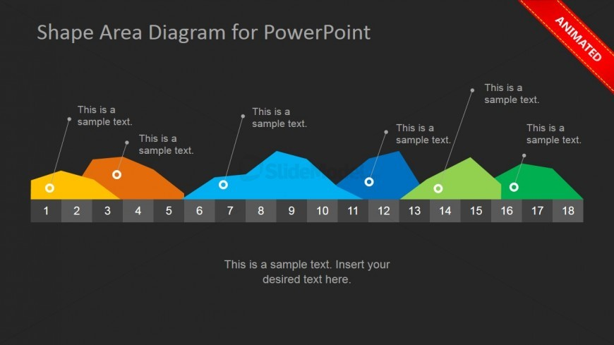 Animated Colorful Area Chart PowerPoint Slide - SlideModel - photo#24