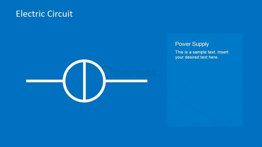 Electric Circuit Power Supply PowerPoint Template - SlideModel