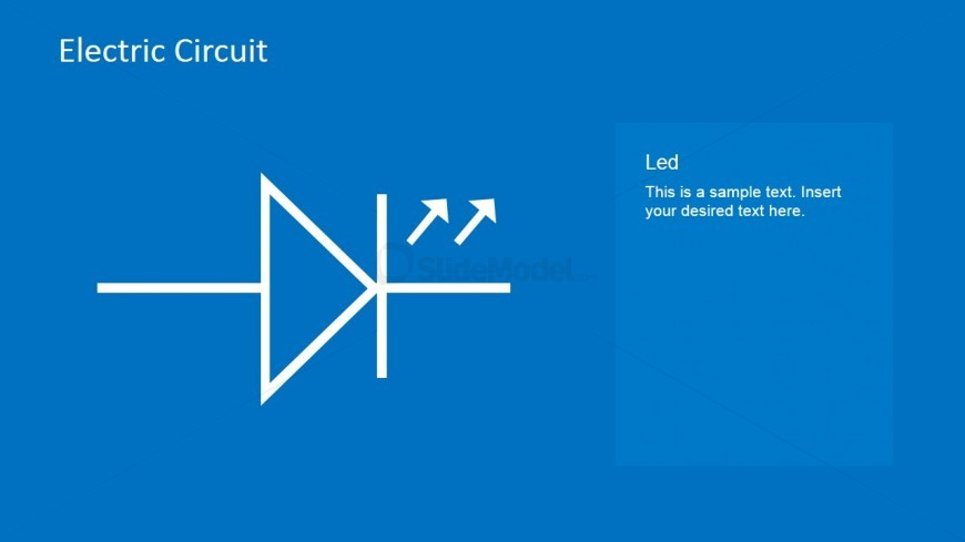 Led Circuit Powerpoint Template Slidemodel