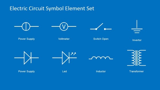 Schematic Circuit Diagram PowerPoint Slide