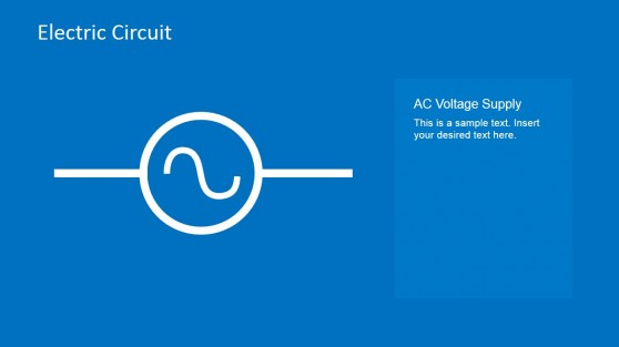AC Voltage Supply PowerPoint Slide