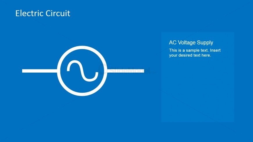 AC Voltage Supply PowerPoint Template