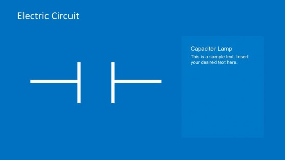 Capacitor Lamp PowerPoint Template